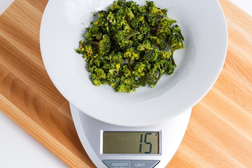 15 grams of dehydrated broccoli