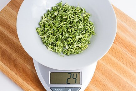 24 grams of dehydrated celery